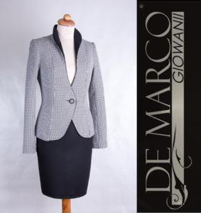 odzież biznesowa De Marco, kostium Venus idealny na wizytę u prezydenta
