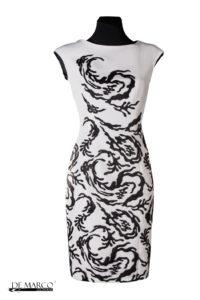 Piękna ekskluzywna sukienka szyta na miarę, De Marco