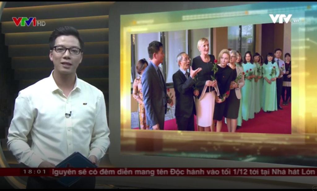 Agata Duda najlepiej ubrana prezydentowa. Telewizja wietnamska o wizycie Pierwszej Damy RP