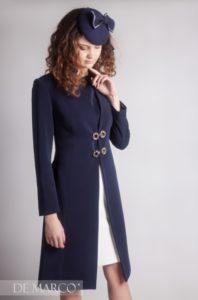 Elegancki Płaszcz do sukienki