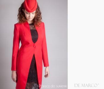 Jak dobrać płaszcz do sukienki. Czym różni się płaszcz do sukienki od płaszcza wiosennego. Kiedy założyć płaszcz, a kiedy żakiet.