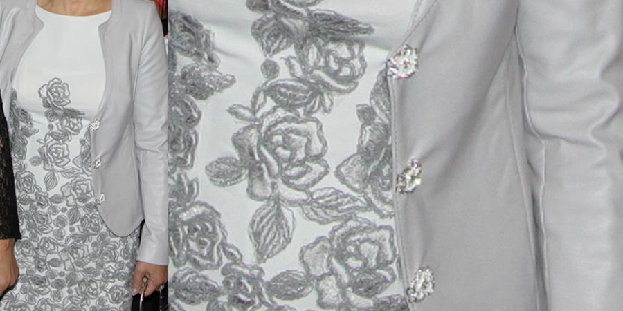 Sukienka z gipiury polecam firmę z Frydrychowic
