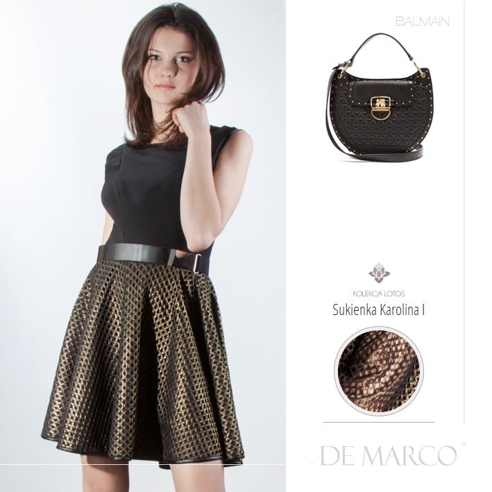 Sukienki andrzejkowe Balman, De Marco