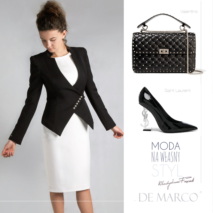 kostiumy biznesowe, Valentino, Saint Laurent, De Marco luxury clothing / luksusowa odzież