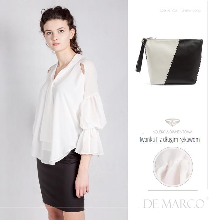 eleganckie bluzki De Marco, Diane Von Furstenberg