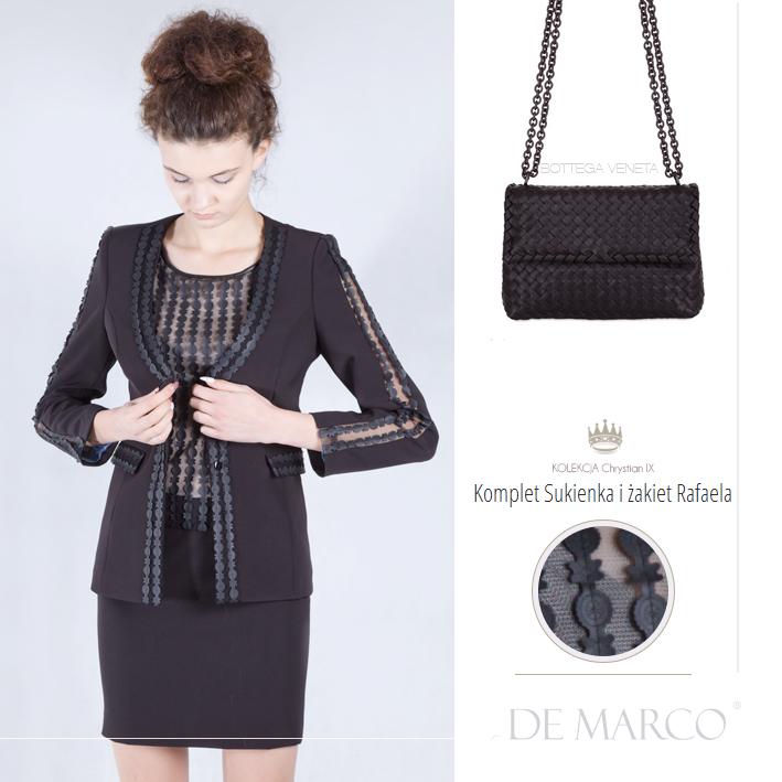 sukienki i żakiety biznesowe, Bottega Veneta, De Marco