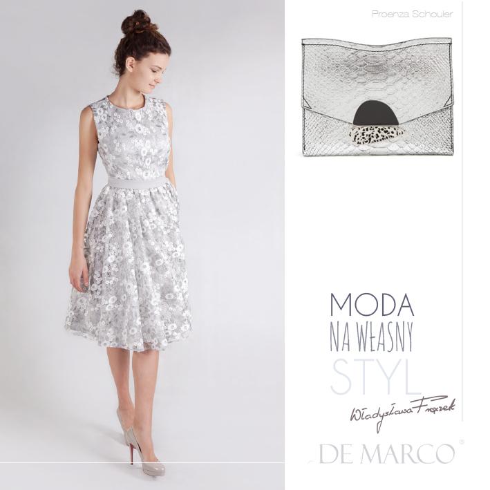 sukienki dla mamy wesela, moda na własny styl De Marco, Proenza Schouler