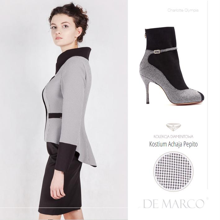 garsonki, kostiumy, zestawy, Charlotte Olympia, DeMarco, luxury clothing / luksusowa odzież