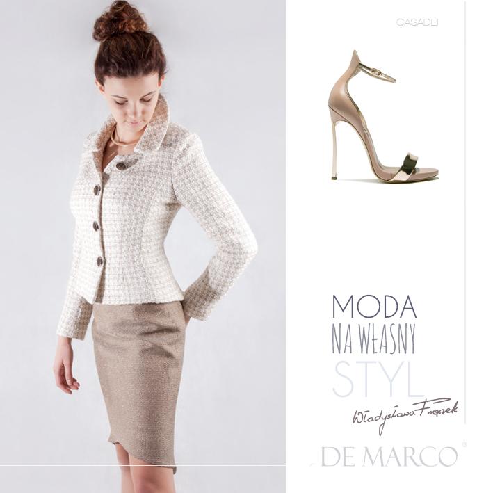 garsonka na komunię, De Marco Casadei, Moda na własny styl