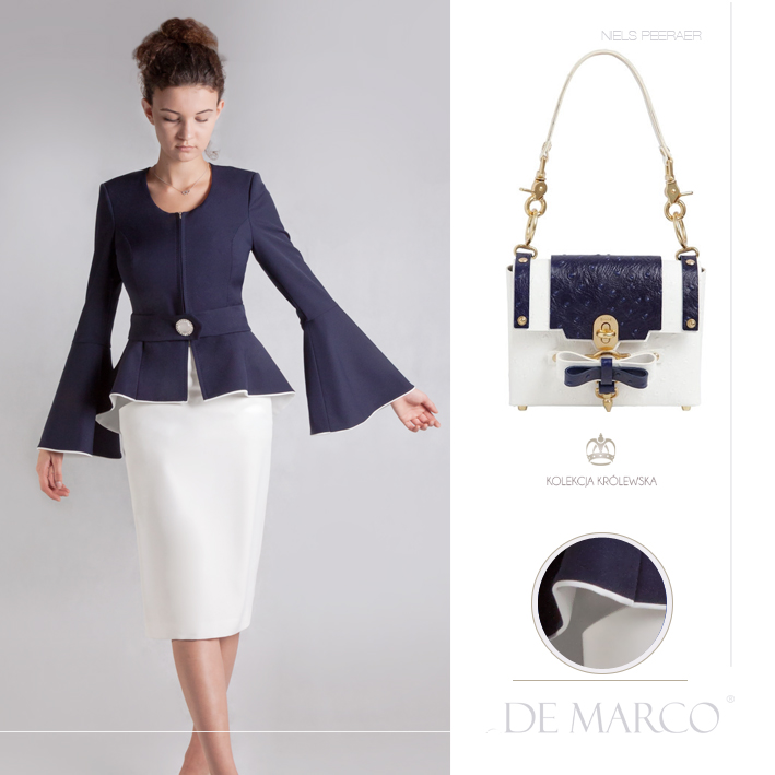 wytworne żakiety damskie, Niels Peeraer, De Marco luxury clothing / luksusowa odzież