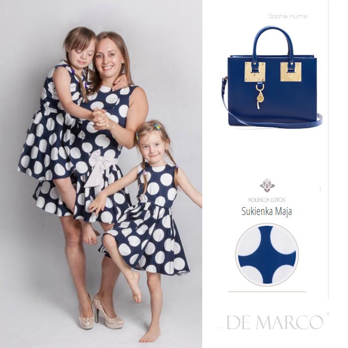 sukienki dla mamy i córki, De Marco, Sophe Hulme