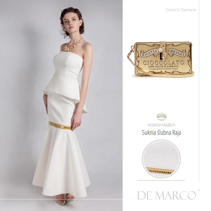 unikatowe sukienki na ślub Dolce & Gabbana, De Marco