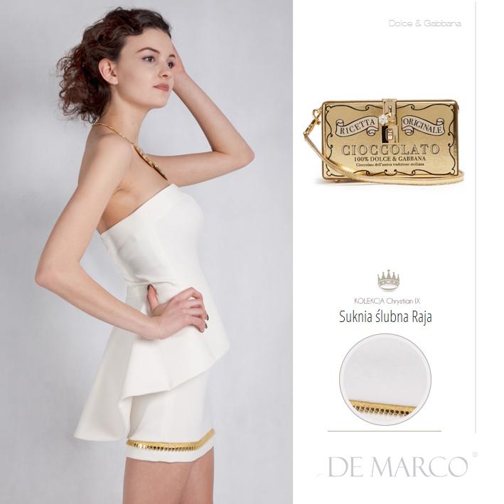 weselne kreacje dla młodej pani, Dolce & Gabbana, De Marco