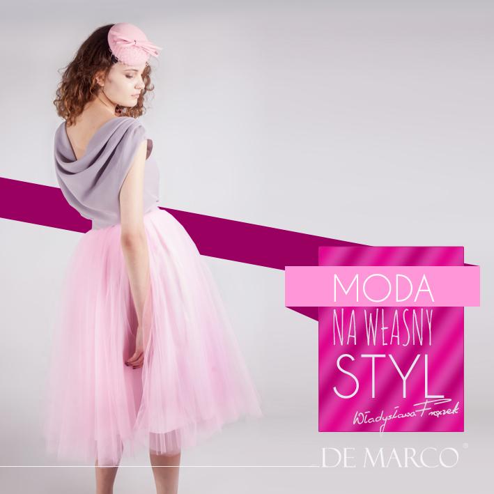 weselne kreacje od projektanta mody Władysławy Frączek, De Marco z Frydrychowic, Moda na własny styl