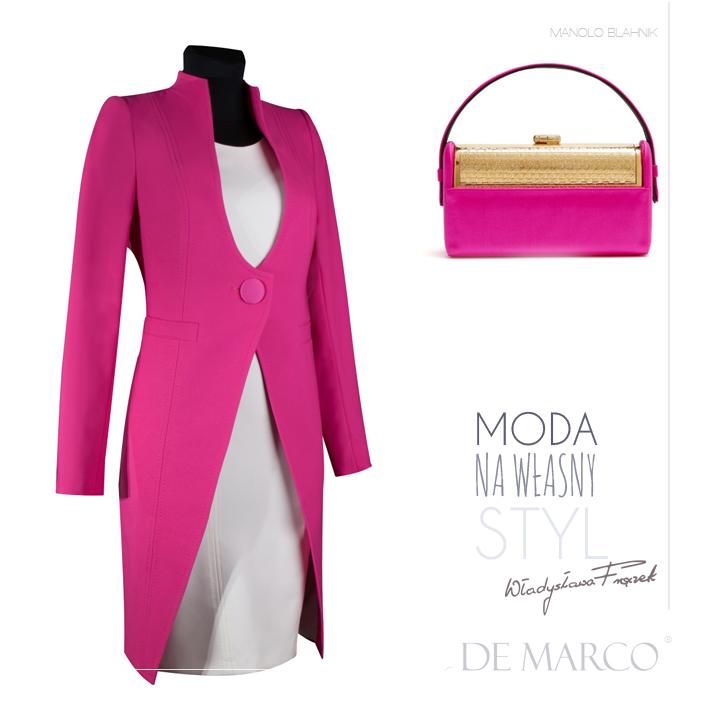 płaszcze do sukienki, Manolo Blahnik, De Marco