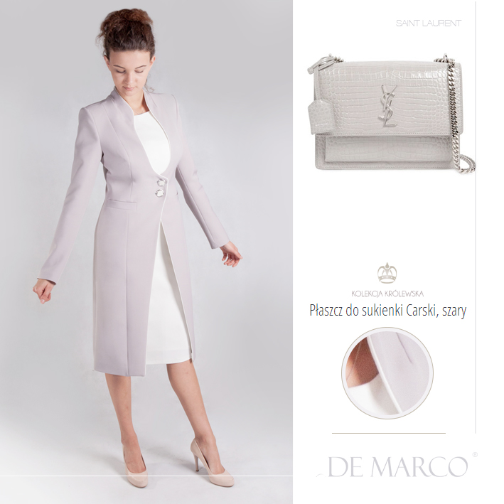 płaszcz na wesele, DeMarco, Sant Laurent