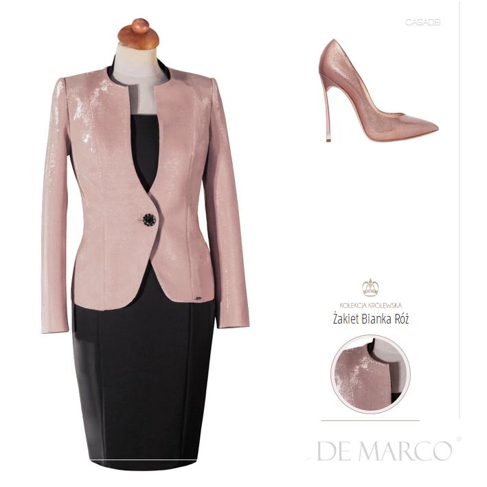 żakiety do sukienek Casadei, De Marco