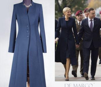 Jesienna stylizacja. Co włożyć na sukienkę jesienną porą. Komplet sukienka z płaszczem czy kurtką.