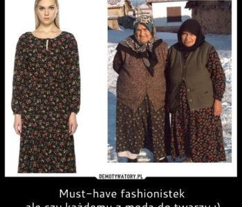 Sukienka w kwiaty i marynarka oversize, czyli must-have fashionistek. Czy każdemu z modą do twarzy? ;)