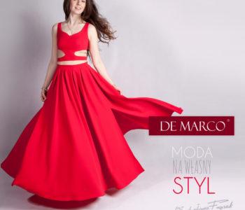 Czerwona sukienka na wesele: faux-pas czy perfekcyjny wybór? Porady, stylizacje, szycie na miarę Władysława Frączek, De Marco