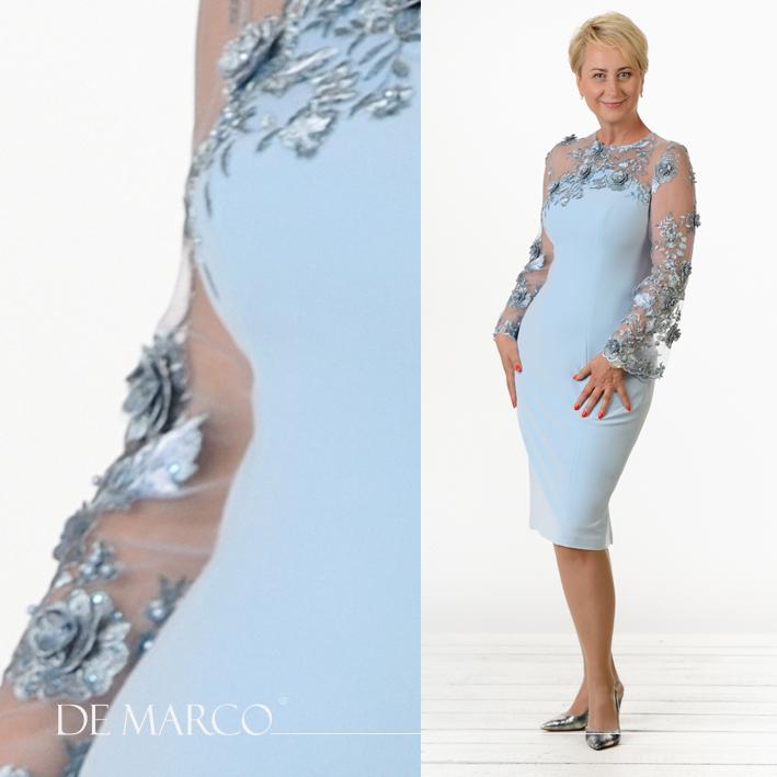 Elegancka Mama Pana Młodego Wytworne sukienki na wesele.