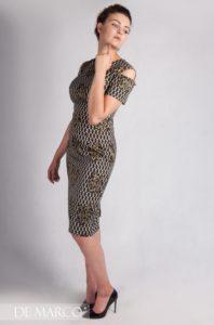 eleganckie sukienki do połowy łydki De Marco Frydrychowice