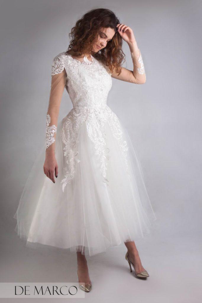 Modne suknie ślubne szyte na miarę u projektanta De Marco. Szycie na miarę Kraków, Warszawa, Bielsko
