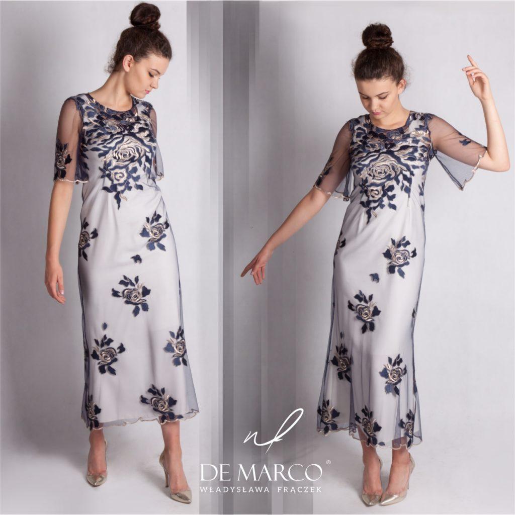 Długie eleganckie sukienki koronkowe na wesele od projektantki mody spod Krakowa. Szycie na miarę wyjątkowych autorskich kreacji weselnych. Krótkie serie niepowtarzalne oryginalne fasony sukienek z żakietami i płaszczami.