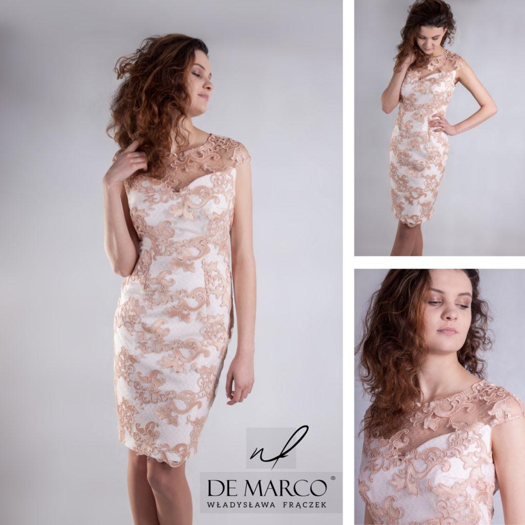 Eleganckie sukienki na wesele dla mamy oraz praktyczne kreacje biznesowe i wizytowe. Sklep interetowy De Marco.   Szycie na miarę kreacji dla puszystej mamy wesela w każdym rozmiarze to nasza specjalność. :D
