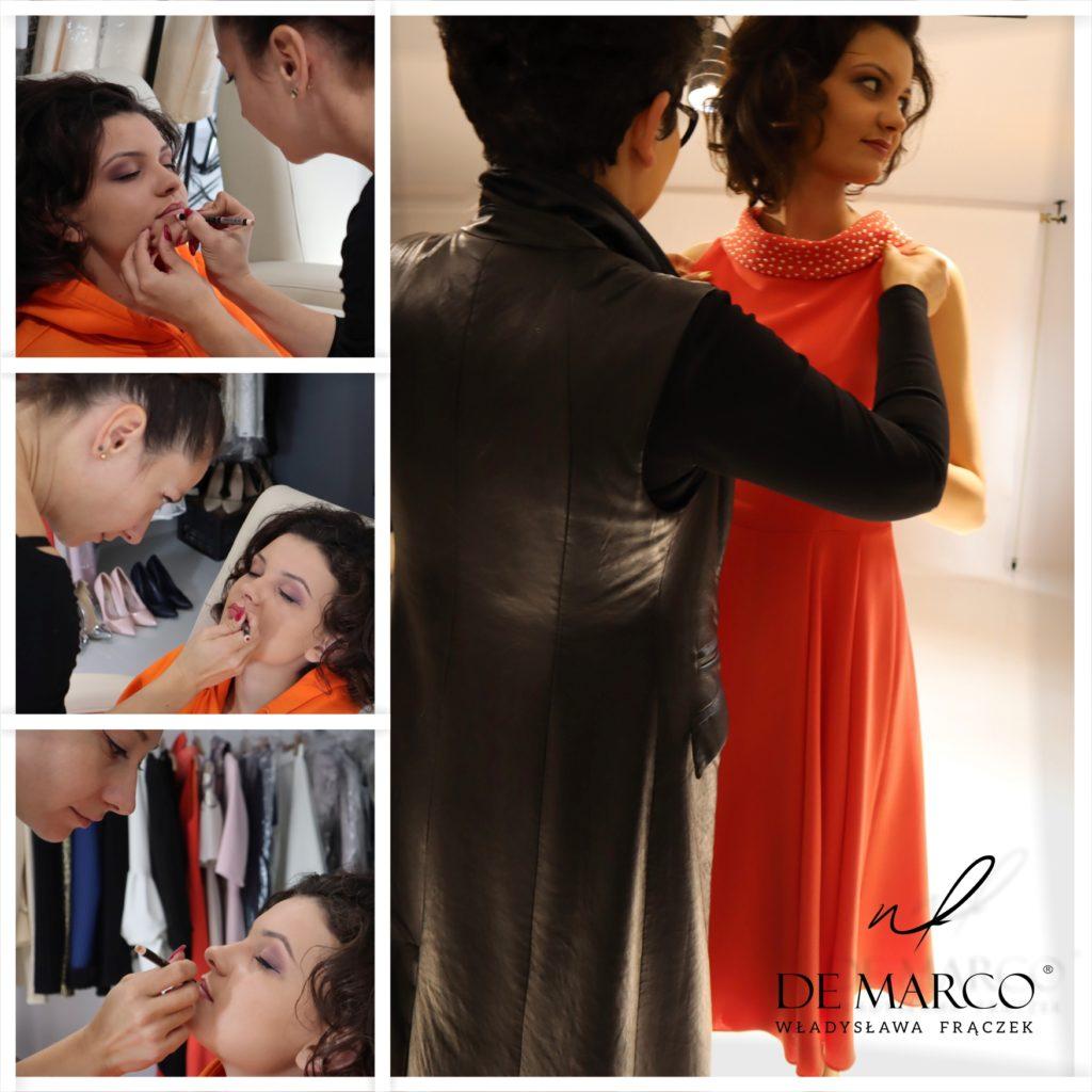 Ekskluzywne ubrania dla eleganckich kobiet. Szycie na miarę u polskiego projektanta. Sukienki na wesele dla mamy panny młodej lub pana młodego.