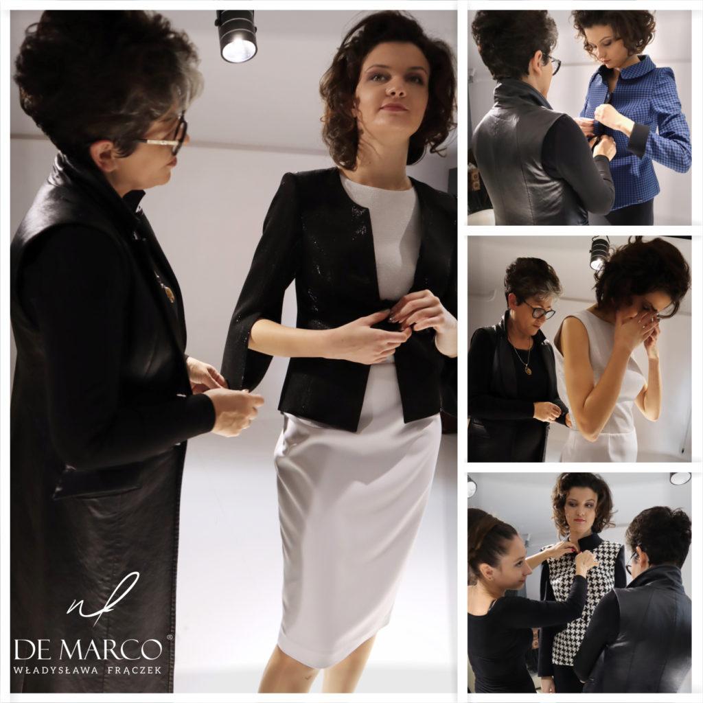 Gdzie kupić sukienkę na wesele w dużym rozmiarze. Zapraszamy do Atelier W. Frączek na prywatne konsultacje. Projektowanie, stylizacja i szycie na miarę to gwarancja doskonałego wyglądu w tym szczególnym dniu :) Komplet, sukienki z żakietami lub płaszczami dobierane są w zależności od rodzaju figury. Zadzwoń i umów się na spotkanie 33 879 59 13