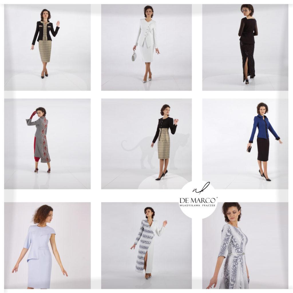 Zapraszam do obejrzenia  mojej najnowszej kolekcji odzieży na 2020 rok. Ubrania dla dojrzałych kobiet z ekskluzywnego butiku De Marco