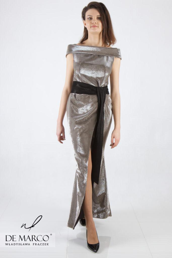Luksusowe suknie premium w sklepie internetowym polskiej porjektantki z Frydrychowic, Sklep De Marco