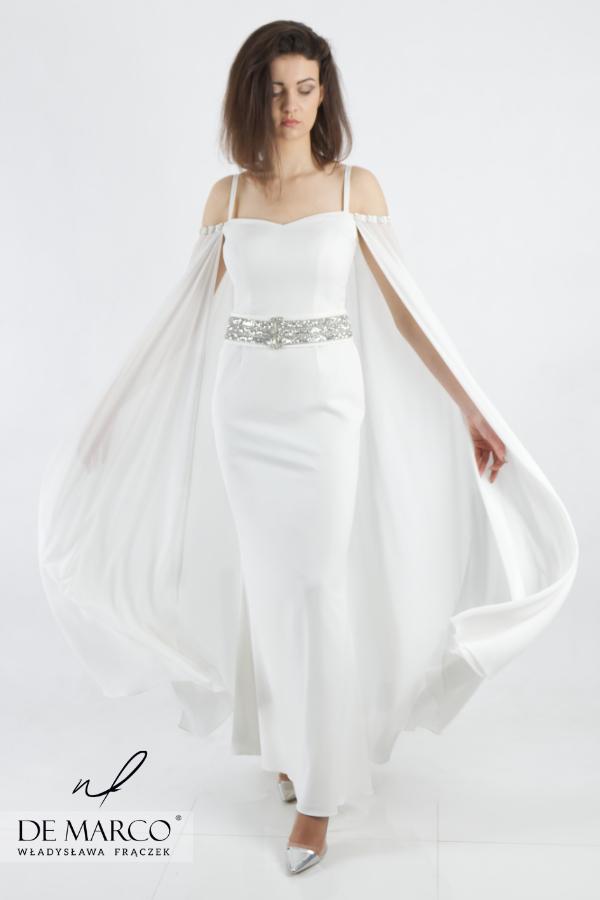 Suknia ślubna szyta na miarę u projektanta. Najpiękniejsze stylizacje dla młodej pani. Salon Mody De Marco Frydrychowice. Sklep internetowy z ekskluzywną odzieżą damską.