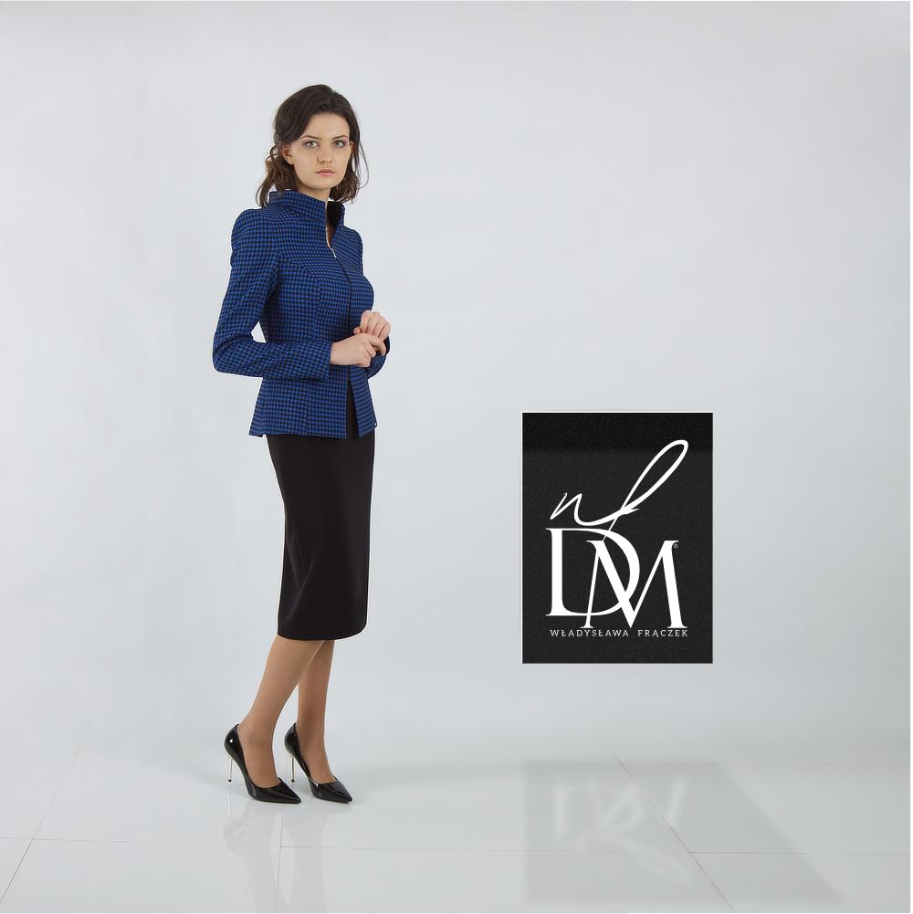 biznesowa garsonka De Marco, żakiet ze spódnicą do pracy.