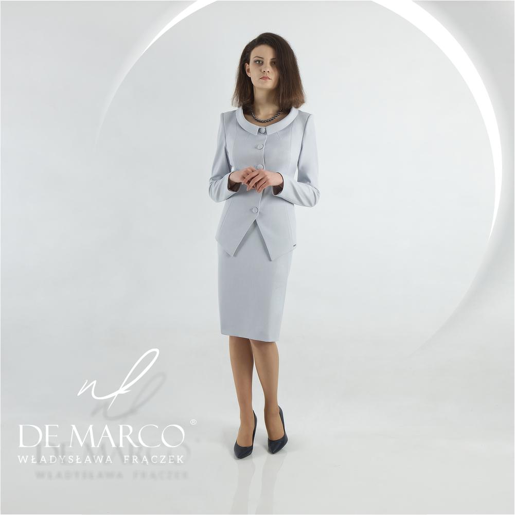 Czym różni się garsonka od kostiumu. Elegancka odzież damska od projektanta.