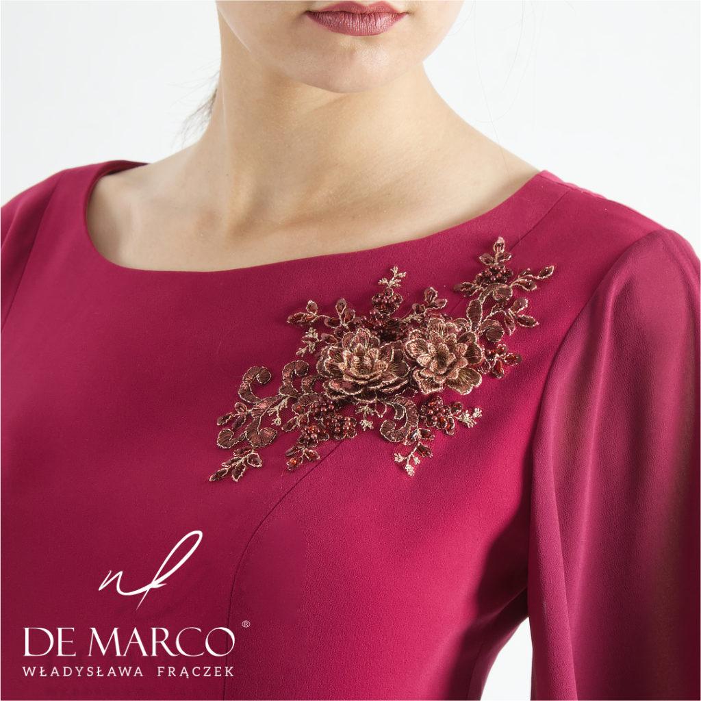 Eleganckie sukienki na wesele dla mamy sklep Warszawa, Kraków, Katowice, Wadowice