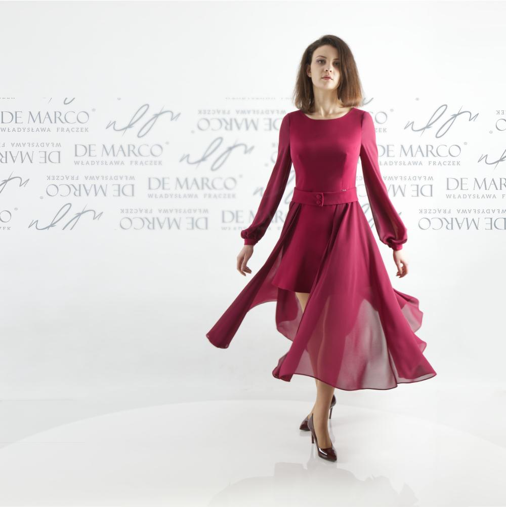 Elegancka sukienka dla 50 latki