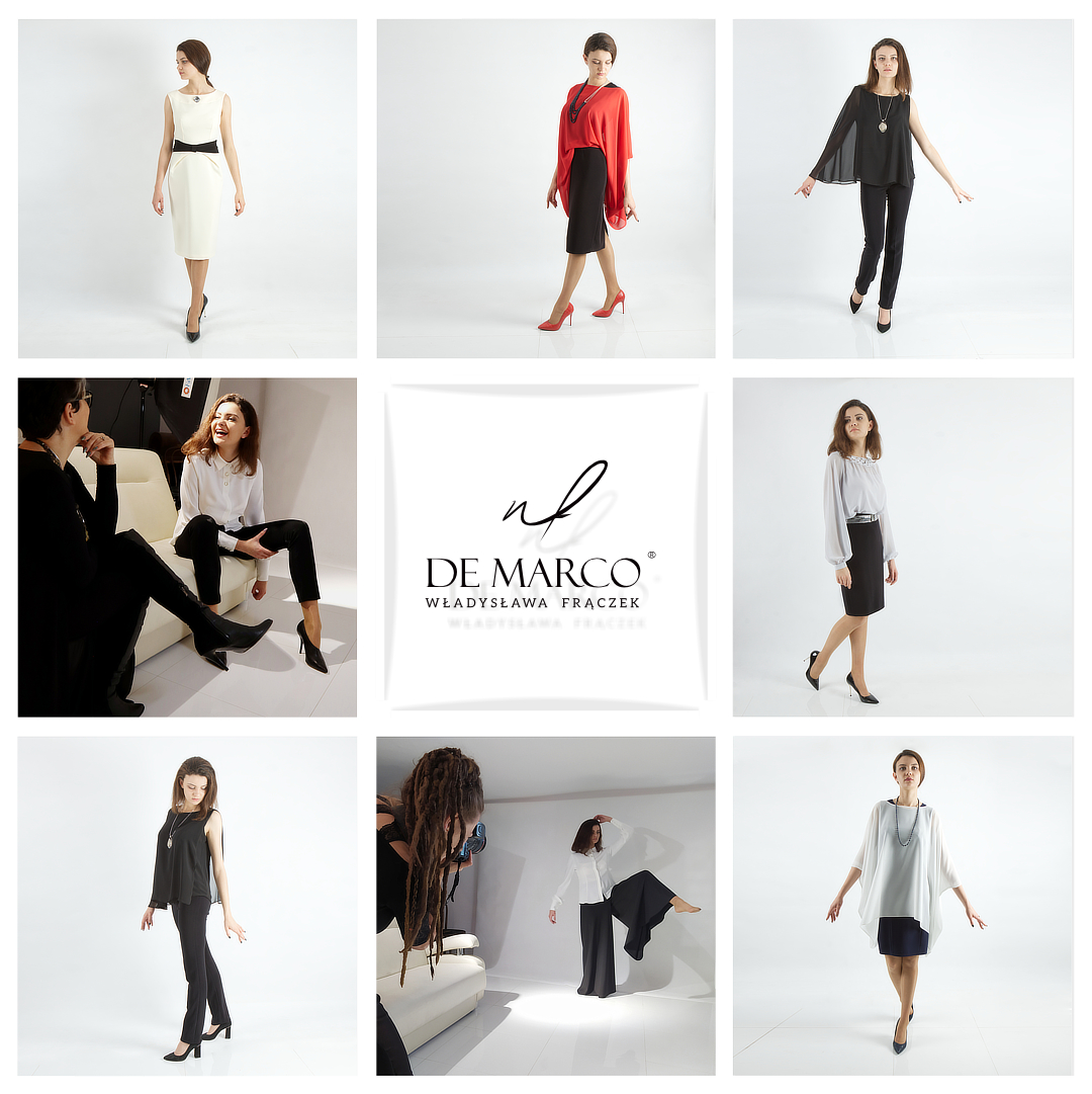 Najpiękniejsze ubrania dla dojrzałej kobiety. Sklep internetowy De Marco